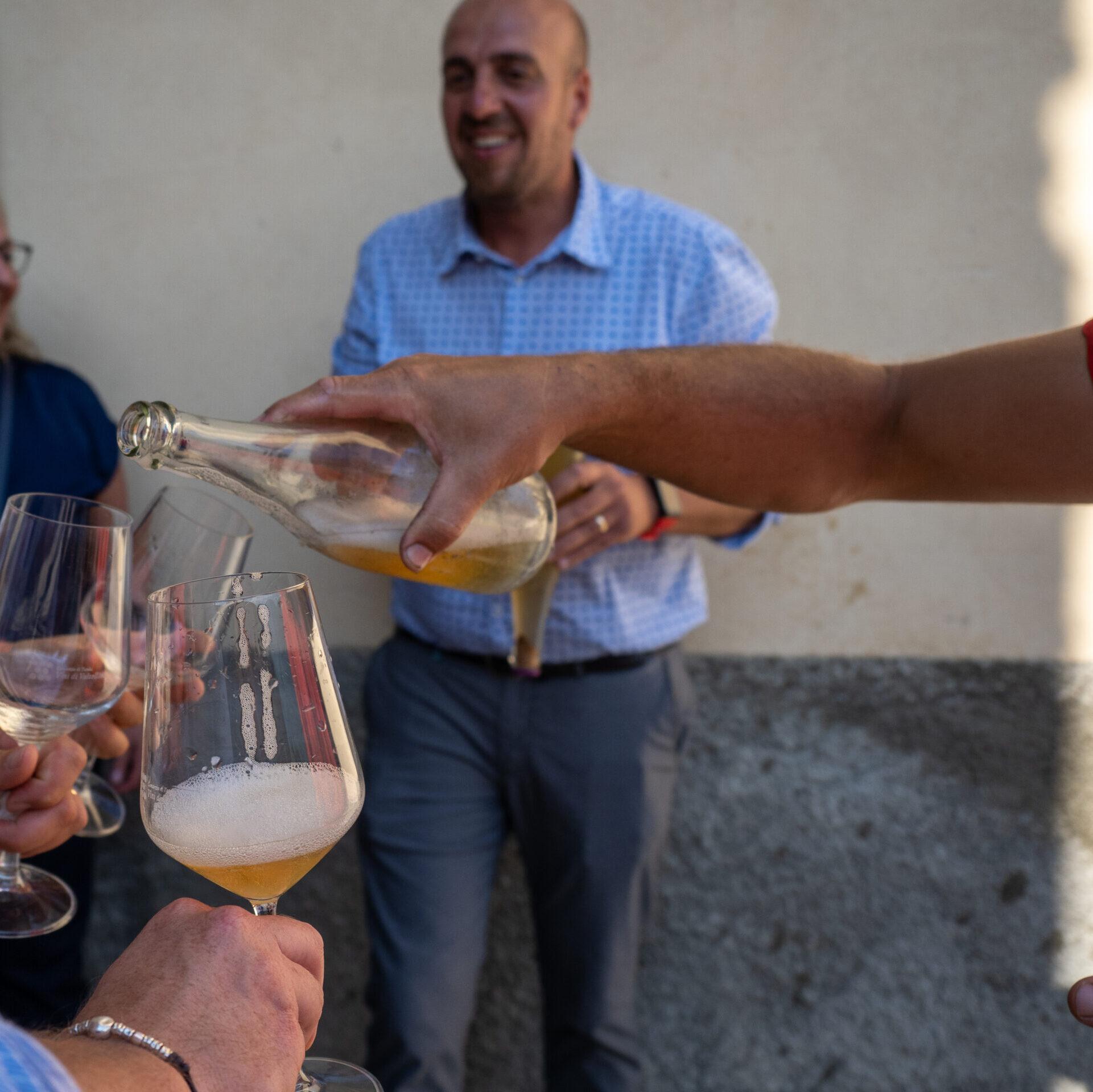 wine tour transfer natale